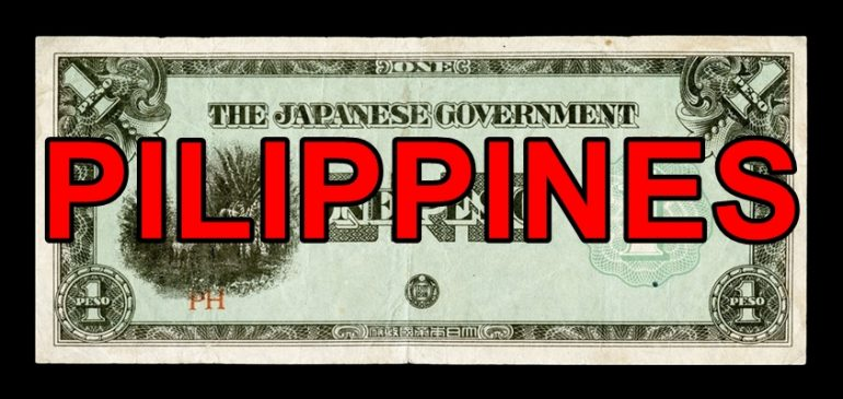Japanese Invasion Money Part 6: Philippines